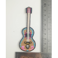 Coco Movie Guitar Broderi Patch USA Iron On