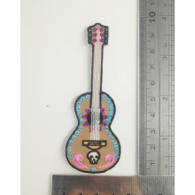 Coco Movie Guitar Stickereiflecken USA Eisen auf