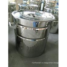 Ребристый барабан из нержавеющей стали / ребристый барабан 200 л / нержавеющая сталь Ребристый бак