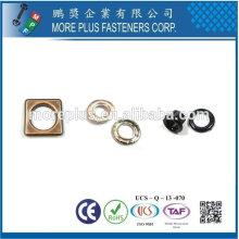 Taiwán Ojal Cortina Ojal Latón Metal Cobre Acero chapado en oro
