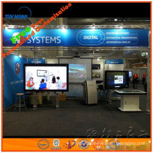 6m*9m light and collapsible fast aluminum truss exhibition booth for trade show booth design