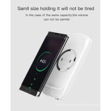 Banco sem fio do poder do carregador 18000mAh Dual USB