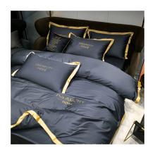 OEM factory chinese korean bedding set 4 piece bed sheet bedding set luxury 100% cotton soft quilt cover bedding set