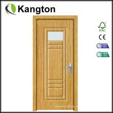 Günstige MDF-Laminat-PVC-Innentür (Laminante-Tür)
