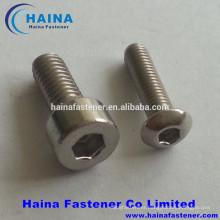DIN912 stainless steel allen bolt socket cap head screw
