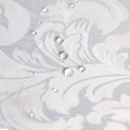 Paños de mesa impermeables de damasco de poliéster