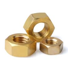 M3 M4 M5 M6 M8 M10 M12 Hexagonal Copper Nuts Brass Hexagon Hex Nut