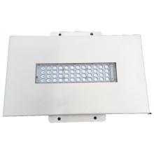 Haute qualité encastrée mince en aluminium de lumière d'auvent de LED LED / station-service LED haute lumière de la baie 50W