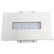 Hohe Qualität vertiefte dünne LED-Überdachungs-Licht-Aluminiumtankstelle / Tankstelle LED hohes Bucht-Licht 50W