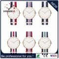 Dw automática de acero inoxidable de acero inoxidable impermeable Wristband moda deporte reloj de cuarzo hombres (DC-1101)