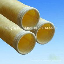 Nomex bolsa de filtro de fieltro de aguja para el colector de polvo