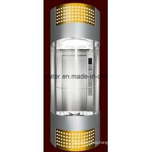Profesión y cómodo elevador panorámico (JQ-A035 (C))