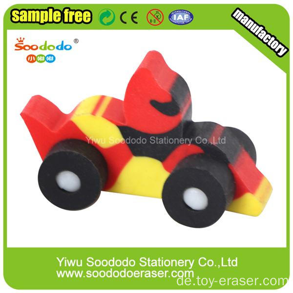 Big Truck Car School Fancy Eraser