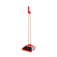 New Design Long Handle Dustpan And Plastic Design Dustpan and Broom Sets