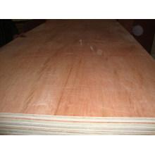 Contrachapado flexible, madera contrachapada de madera dura