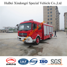 6ton Dongfeng rociador de incendios Euro4