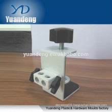 custom made high quality steel G shape bedside tablet bracket clamp adjustable