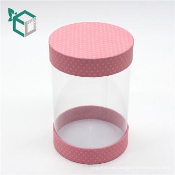 Caja de papel plástica transparente clara del PVC del empaquetado de encargo