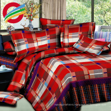 beautiful home textile reactive printed bed sheet sets