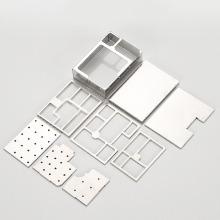 custom Stamping Metal aluminum pcb box rf shielding
