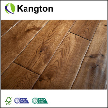 Hand Scraped Solid Oak Wood Flooring (wood flooring)