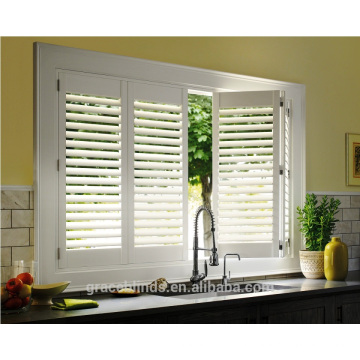 New Arrival Luxury Quality Competitive Price White Coated Plantation Shutter Louver Blade