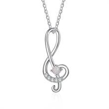 Hot Sale Opal Stone Popular Silver Jewelry Opal Necklace