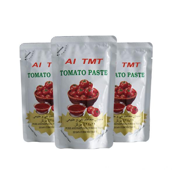 good price sachet tomato paste