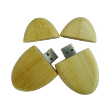 Wood Universal USB 2 GB Pendrive Gift