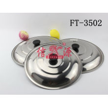 Stainless Steel Flat Cover (FT-3502)