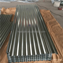 weather proof roofing sheet with galvanized corrugated