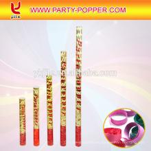 El precio de fábrica hace el cañón grande del confeti y Popper del partido para la decoración