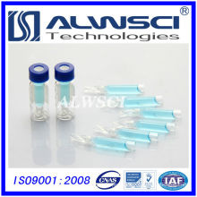 2ml vial compatible with Agilent autosampler HPLC clear vial with insert
