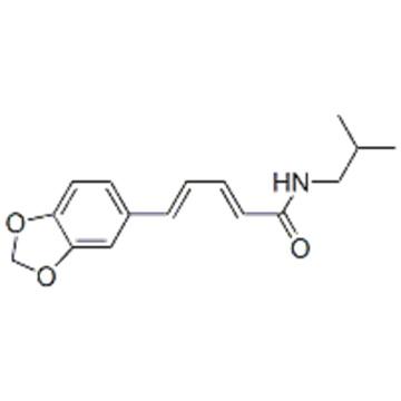 2,4-Pentadienamide,5-(1,3-benzodioxol-5-yl)-N-(2-methylpropyl)-,( 57235426,2E,4E)- CAS 5950-12-9