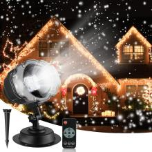Светодиодная Рождественская Снежинка свет