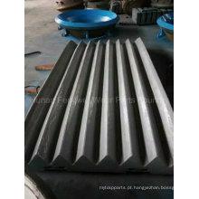 Manganês Steel Jaw Crusher peças de desgaste de fundição
