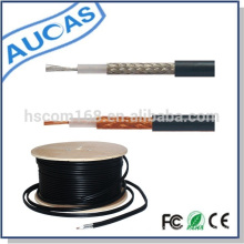 CE FCC ROHS approved insulation material and PVC jacket rg58 coaxial cable
