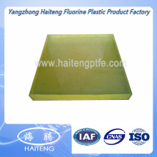 Yellow Transparent Color Polyurethane Sheet PU Sheet