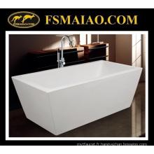 Baignoire autoportante acrylique rectiligne de Sharp-Straight Bathtub (9015)