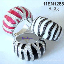 Anillos Circonita plata joyería (11EN1285)