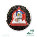 Diamond Edge Cut out Souvenir Challenge Coin
