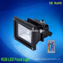 Waterproof ce rohs RGB 30w lamp lighting rgb led flood light