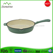Custom Korea style high quality best price cast iron grill pan