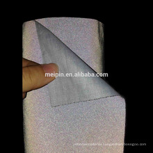 Black Reflective Cotton Fabric for Clothing