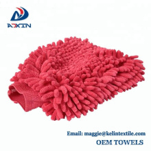 Premium Double Side Microfiber/Chenille Noodle Wash Mitt for Car