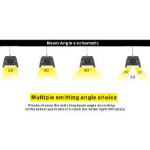 Quatro feixes de luz de ligação do diodo emissor de luz do comprimento 4 do ângulo de feixe 4 para seu uso