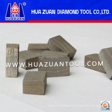 Хорошие быстрорежущие мраморные алмазные сегменты (HZ318)