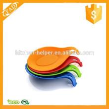 BPA Free Food Grade Silikon Hitzebeständiger Löffel Rest