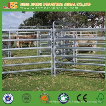 Australia Standard Pre-Galvanized Steel 6 Rails Cattle Yard Panels