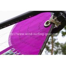 Smart 6.2 Freefide Wind Surf Sail Lightweight 5-batten Purple / Orange / White Color Wave Sail
